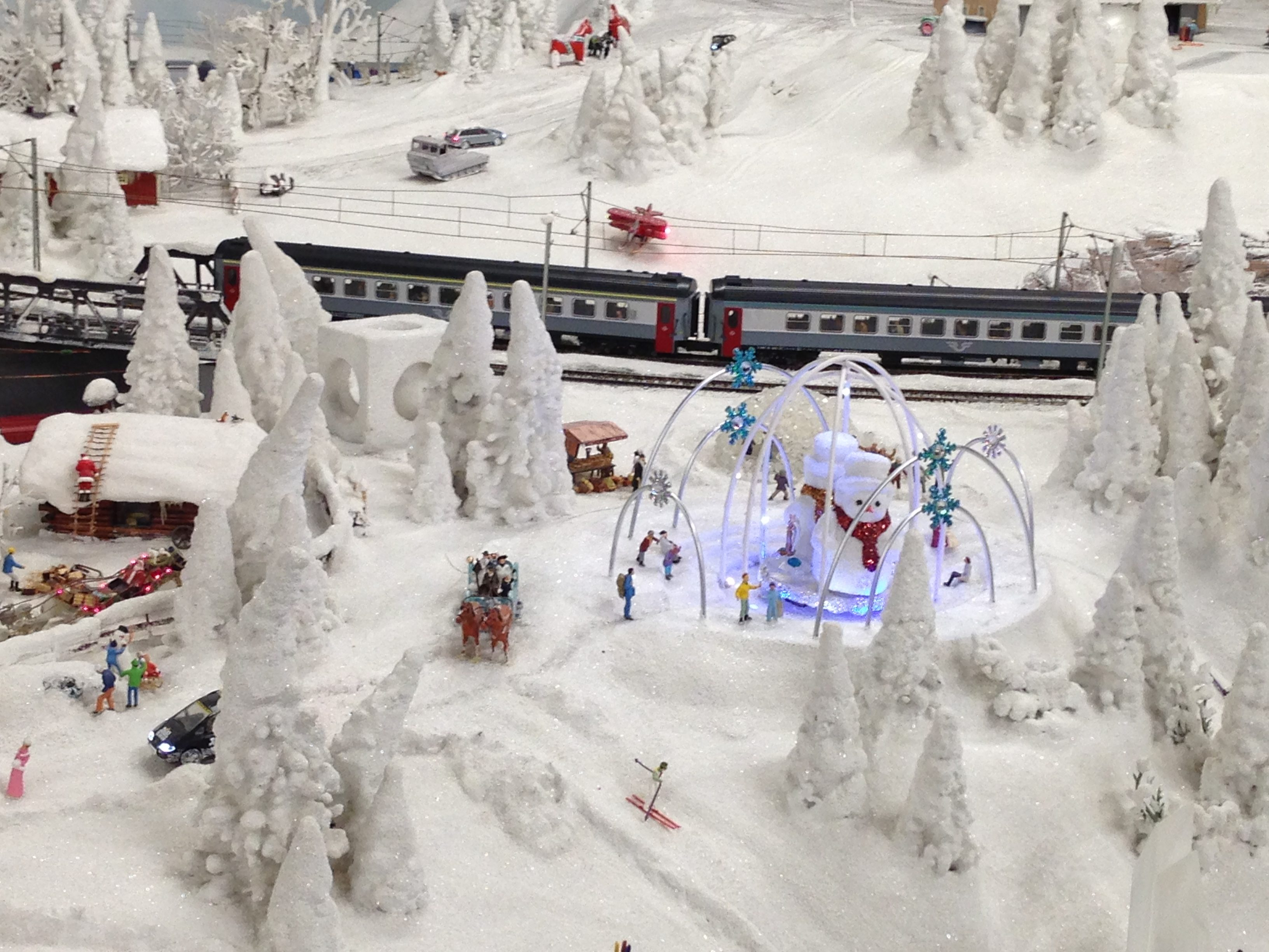 The North Pole in miniature