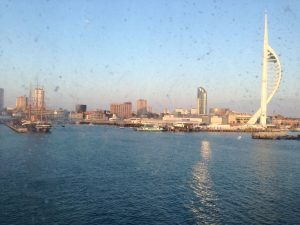 Portsmouth from the ferry.