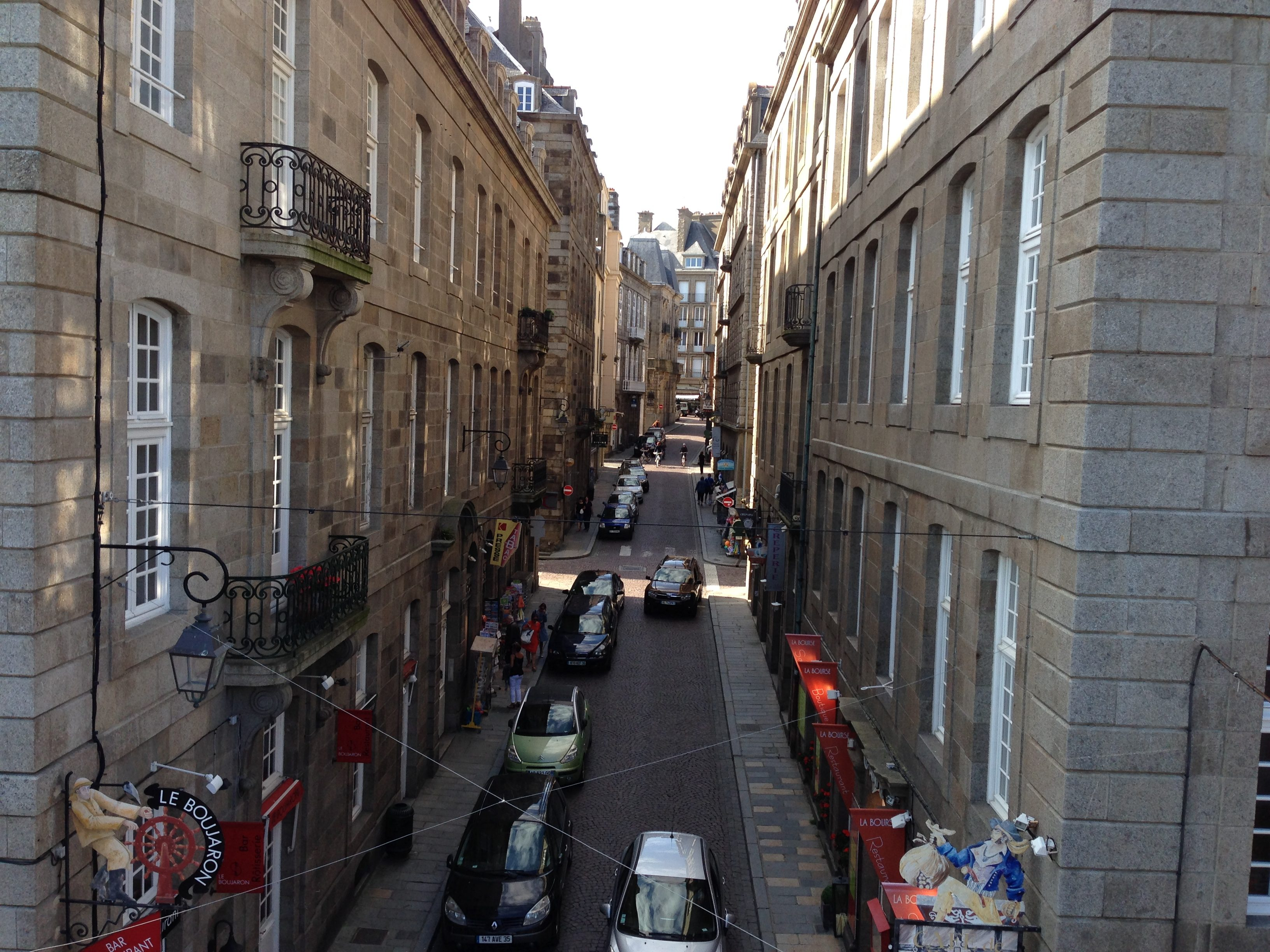 St Malo streets