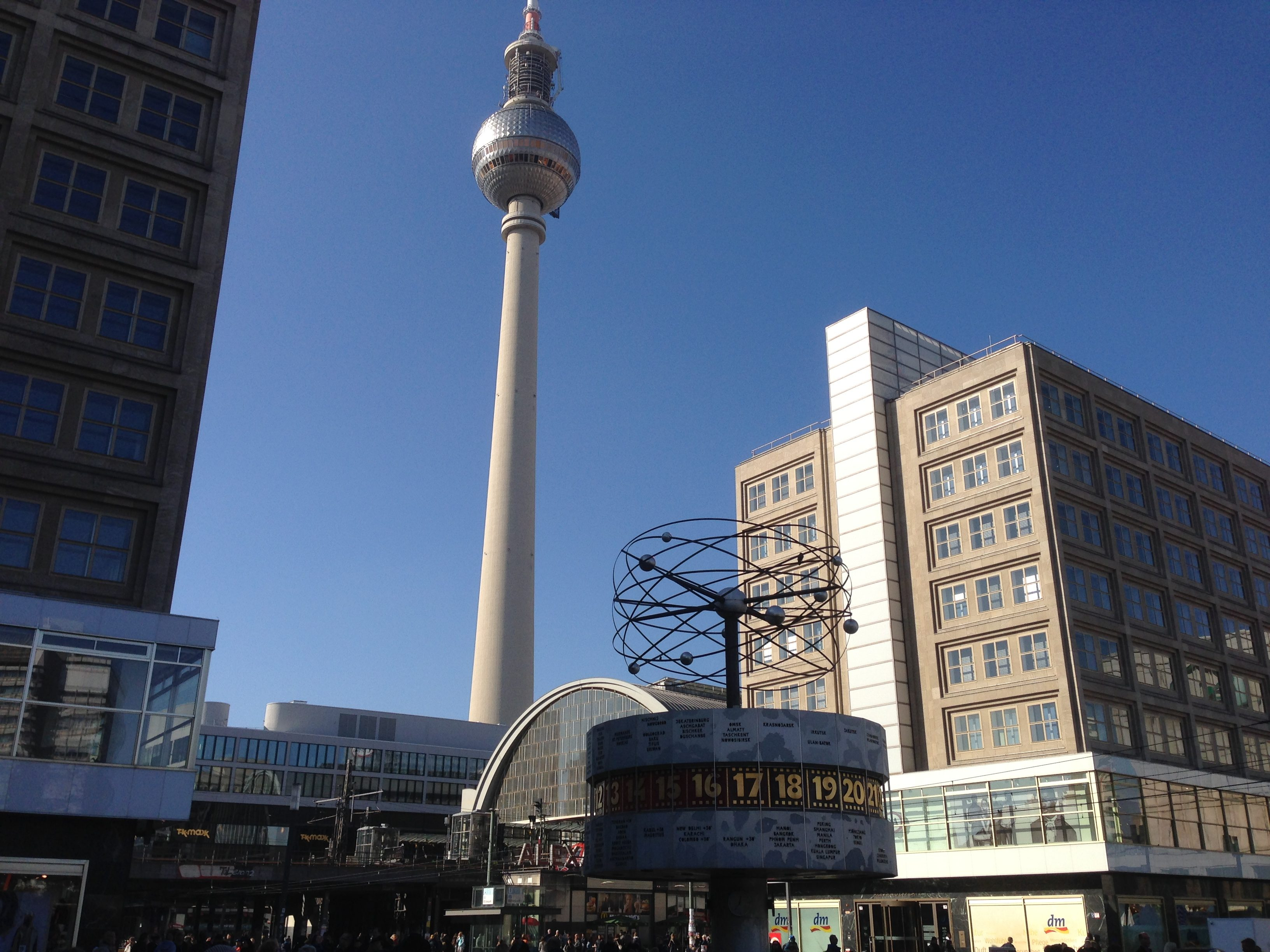 With its giant TV Tower and world clock, when in Berlin all paths will somehow lead to Alexanderplatz.