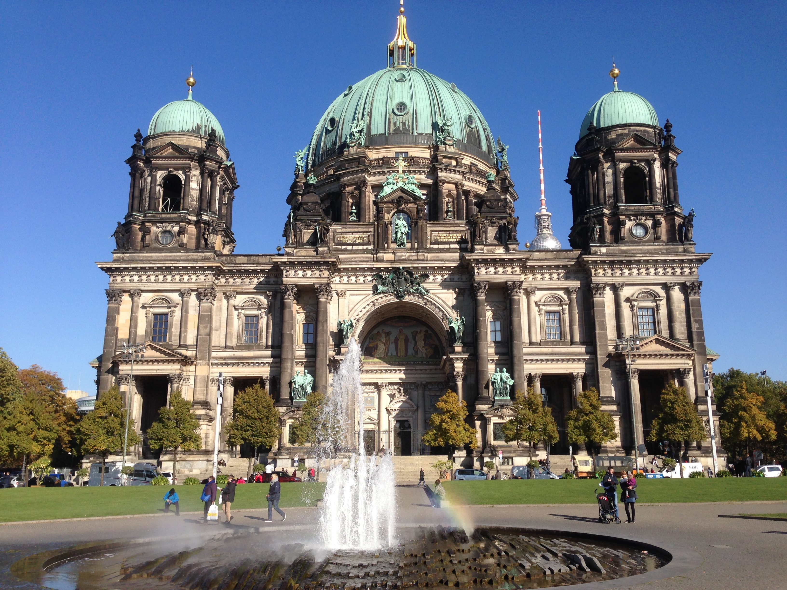 Berliner Dom at the heart of Museum Island.
