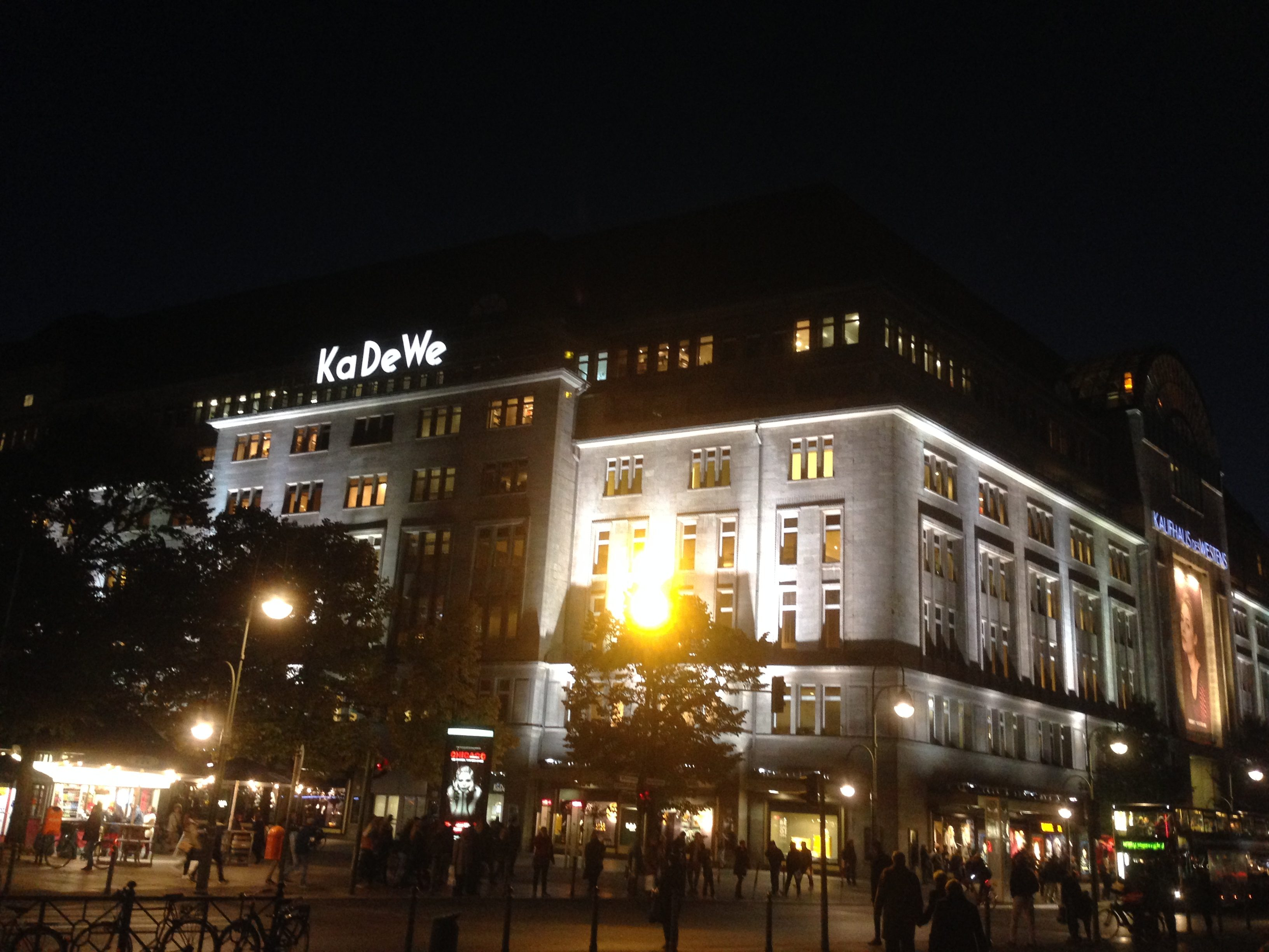 Kaufhaus des Westens or KaDeWe is the signature department store of Berlin