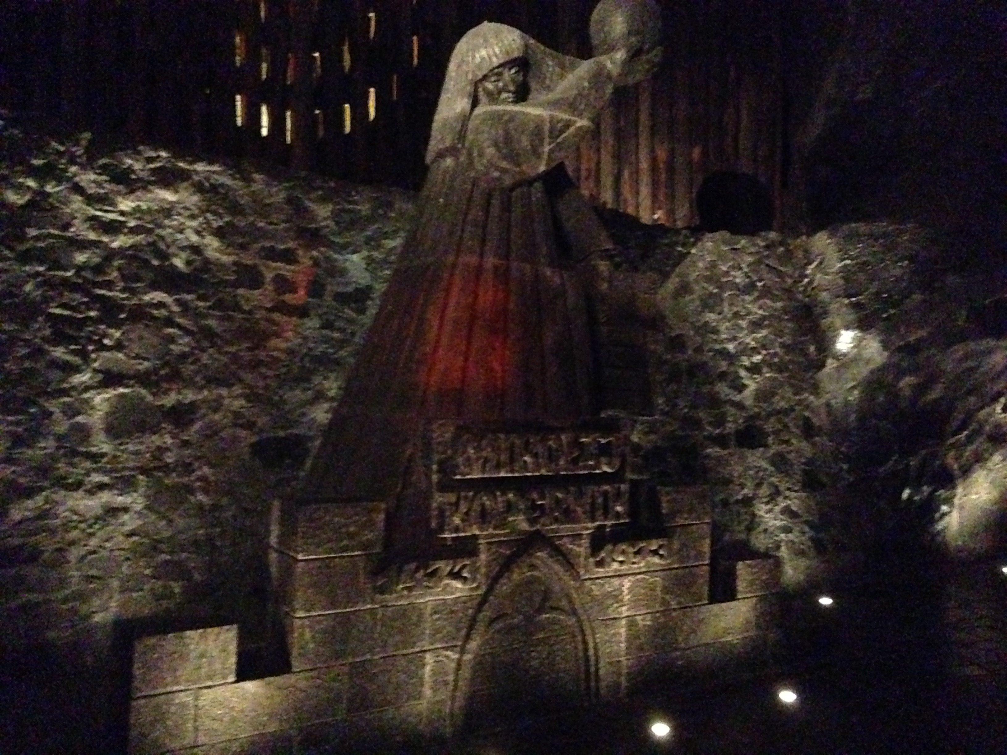 Copernicus salt statue at Wieliczka, Poland
