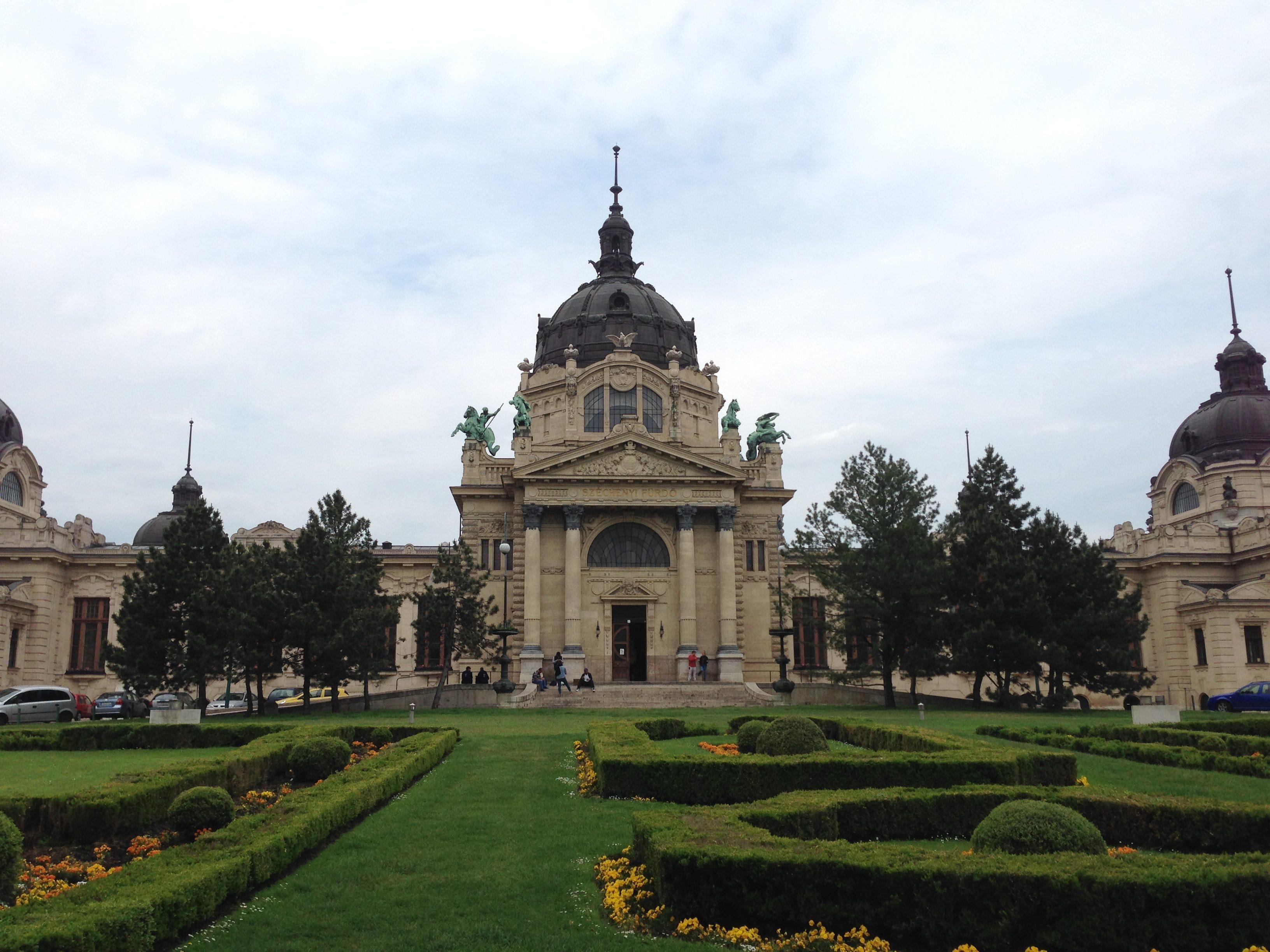 Széchenyi baths in Budapest