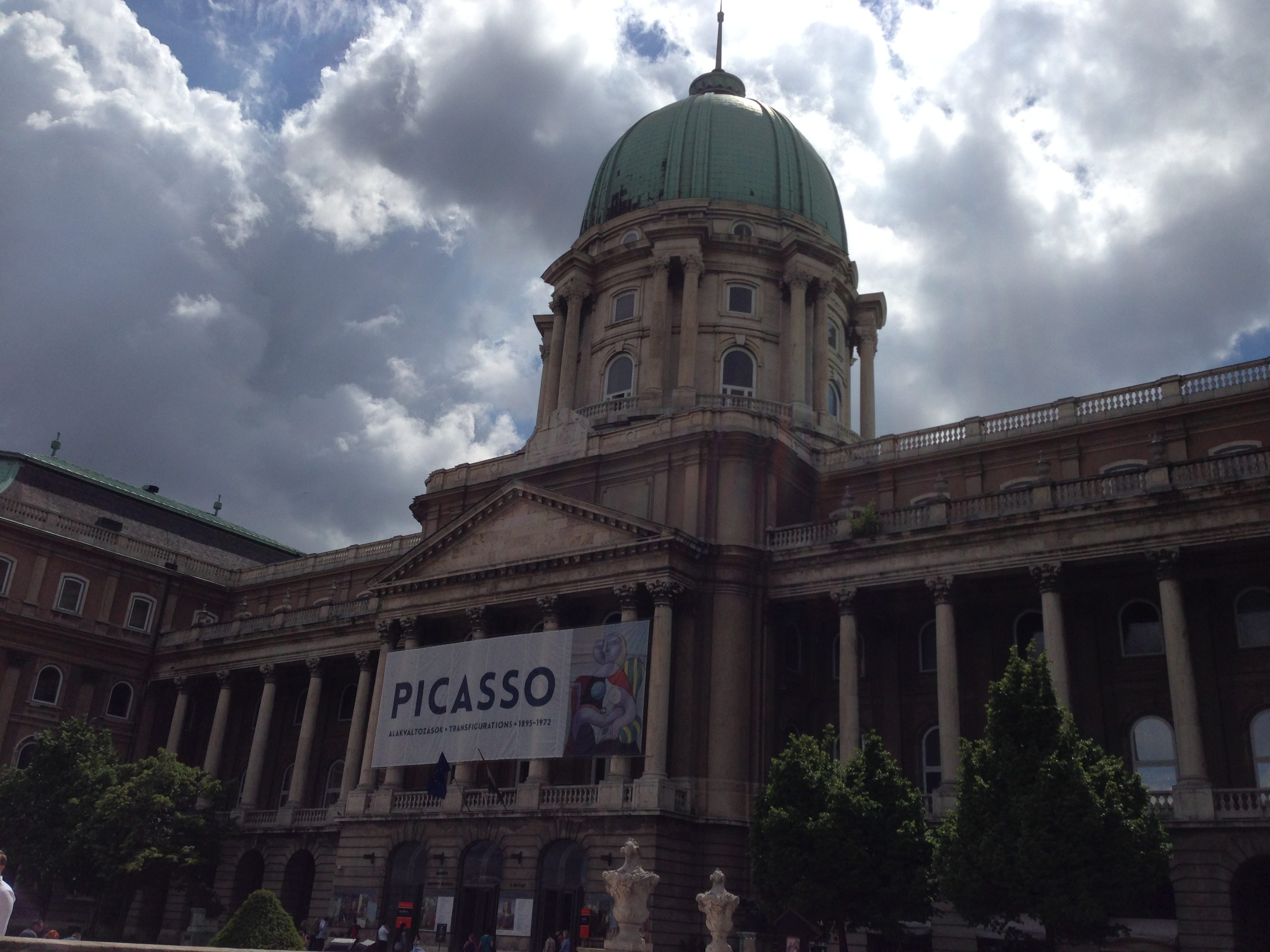 The National Gallery on Buda Castle