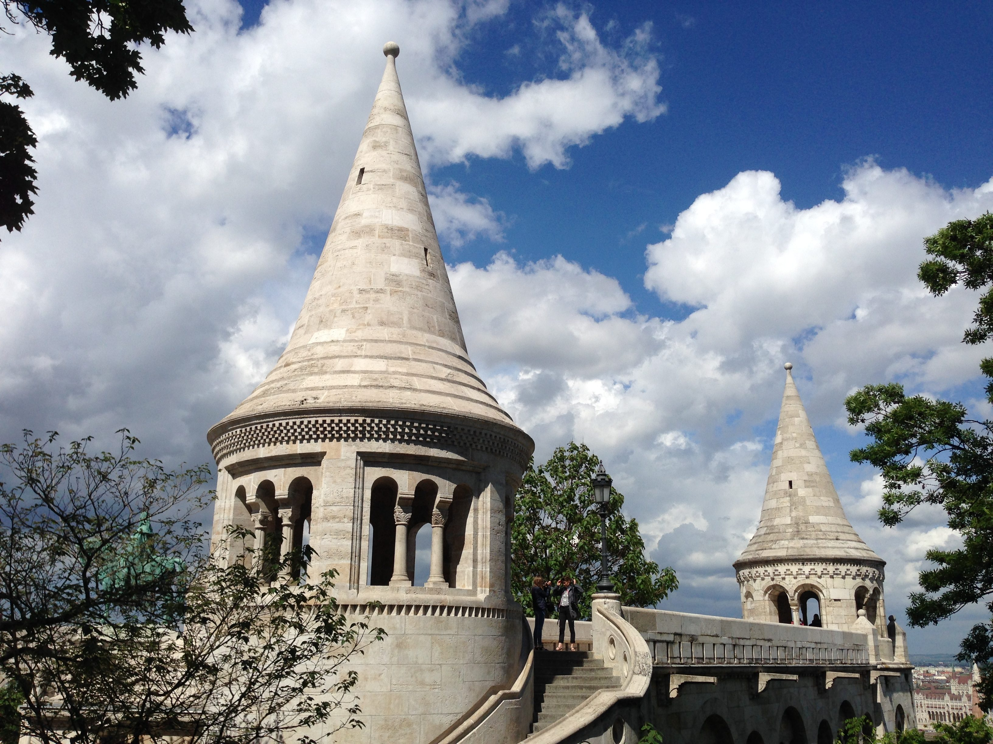 Like a Dinsey castle, Fisherman's Bastion always captures the imagination of anyone on a visit to Budapest.