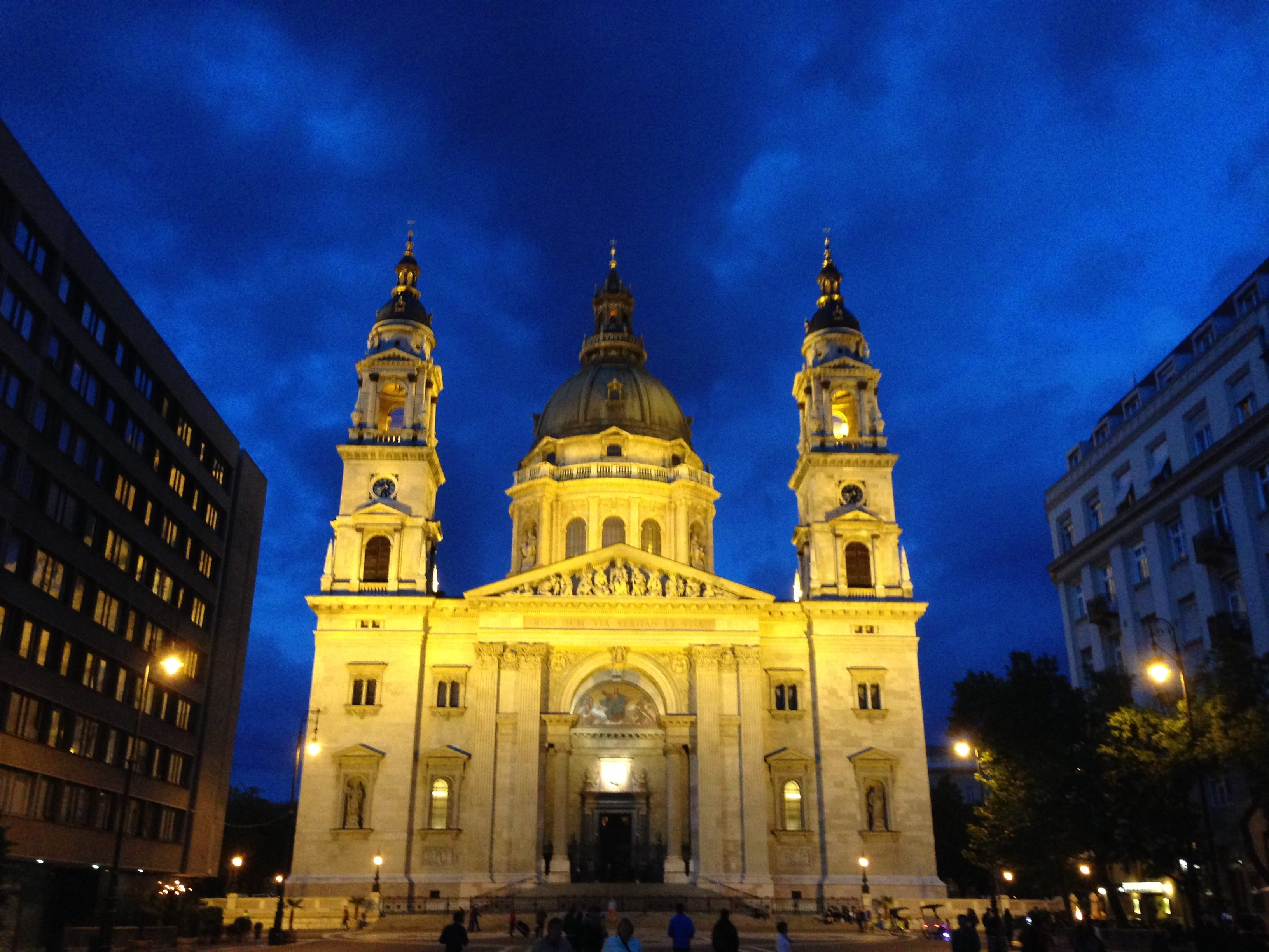 St. Stephen's Basilica, a proud symbol of Budapest looks spectacular both inside and outside.