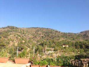 Fikardou village in the mountains of Cyprus