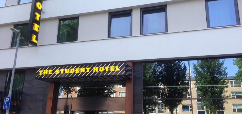 CHECKING IN – THE STUDENT HOTEL ROTTERDAM