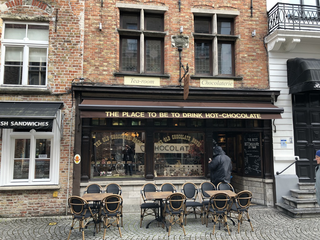 The Old Chocolate House in Bruges