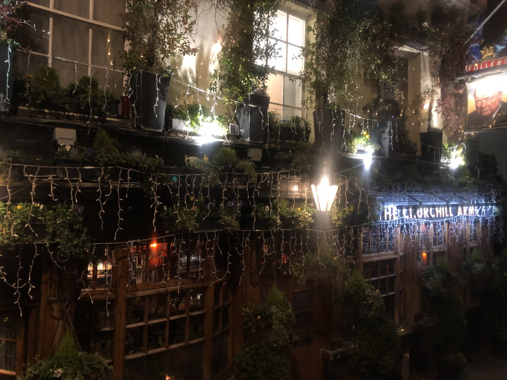Churchill Arms in Notting Hill