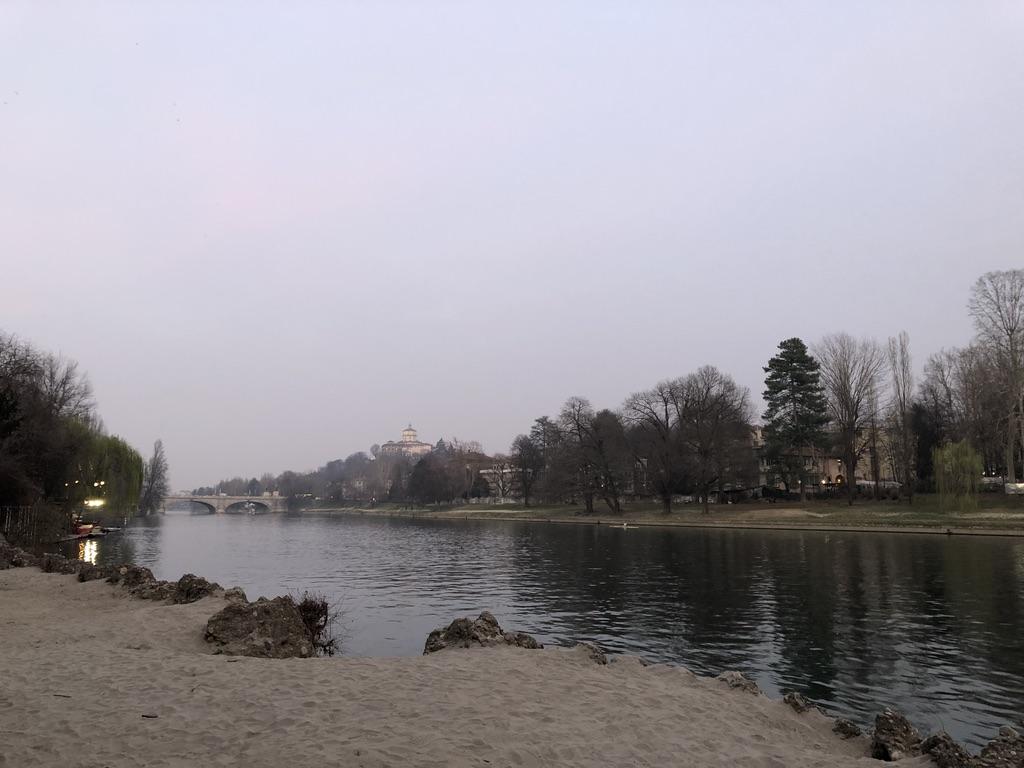 River Po views in Turin