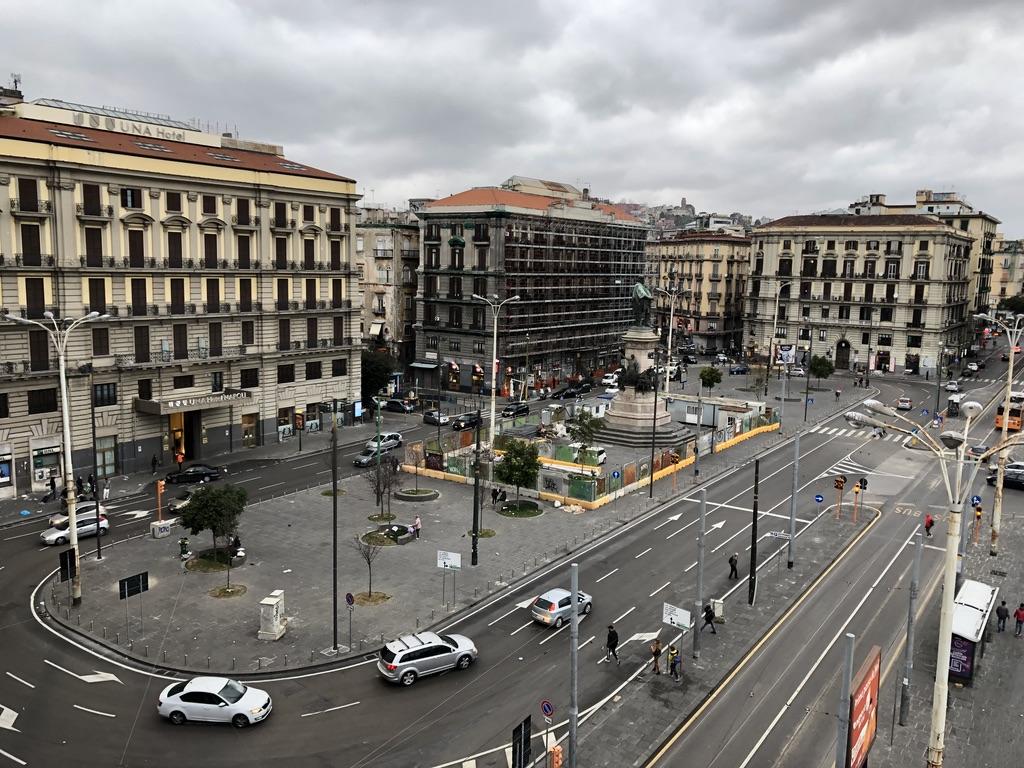 Naples in Italy the week before lockdown