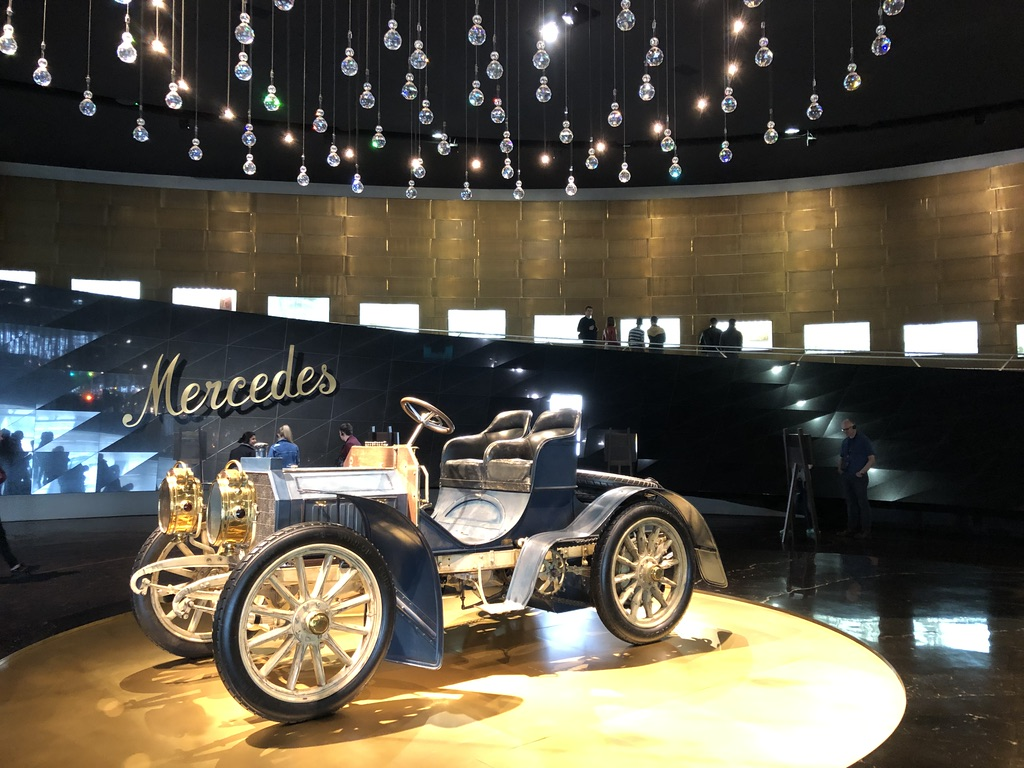 Mercedes earliest cars used for racing