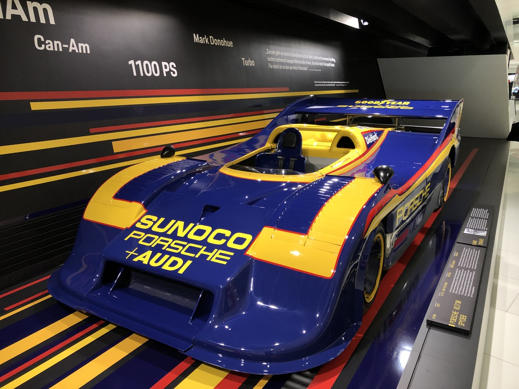 From the Porsche 917 exhibition in Stuttgart