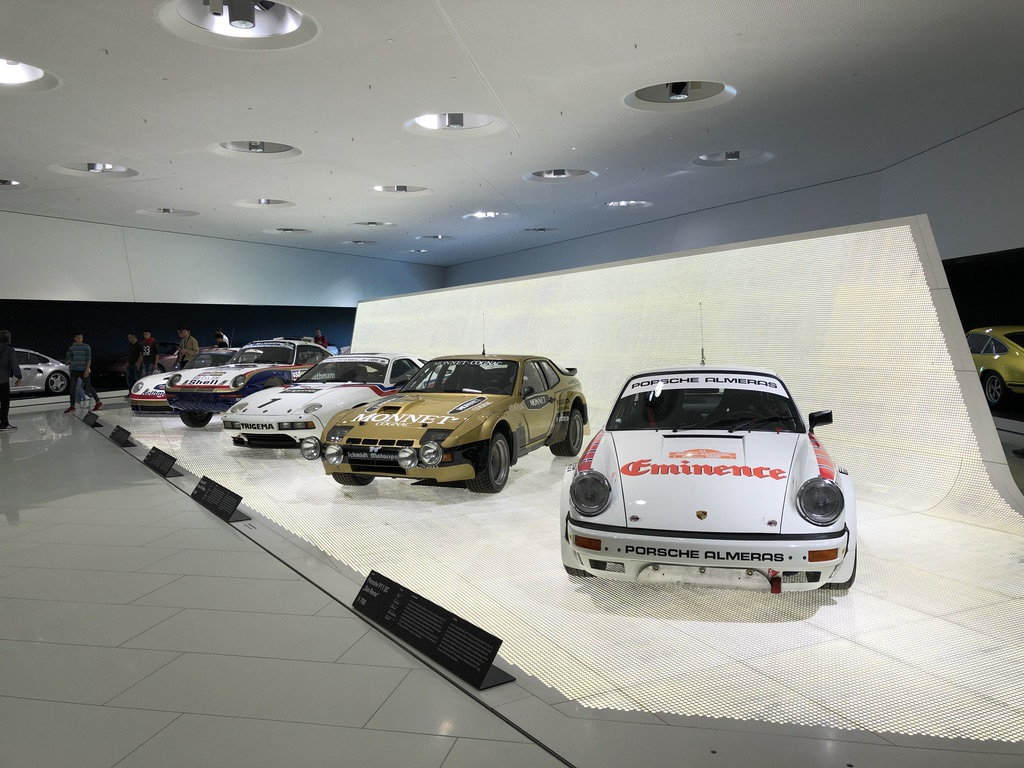 Porsche display Stuttgart