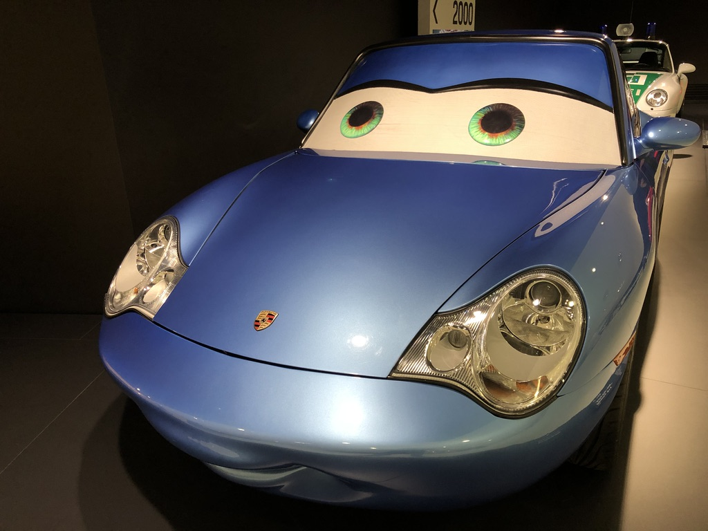 Sally Carrera from Pixar's Cars movie