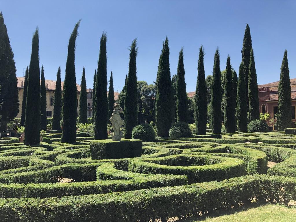 Giusti Gardens in Verona