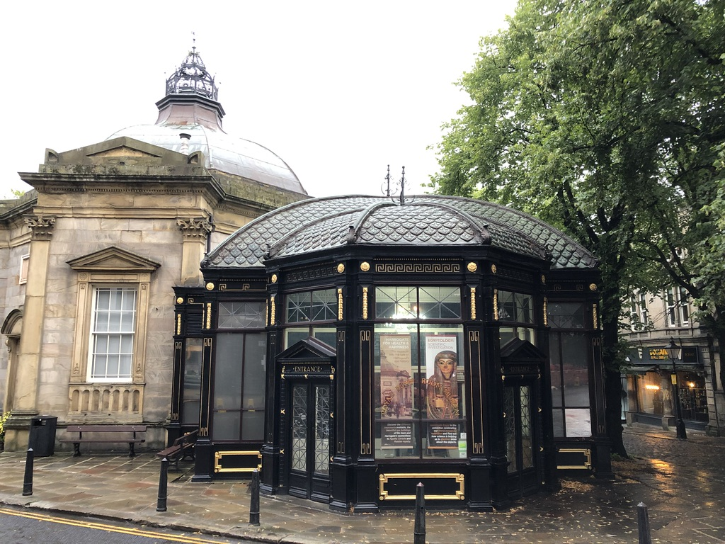 The outside of Harrogate's Royal Pump Room Museum.