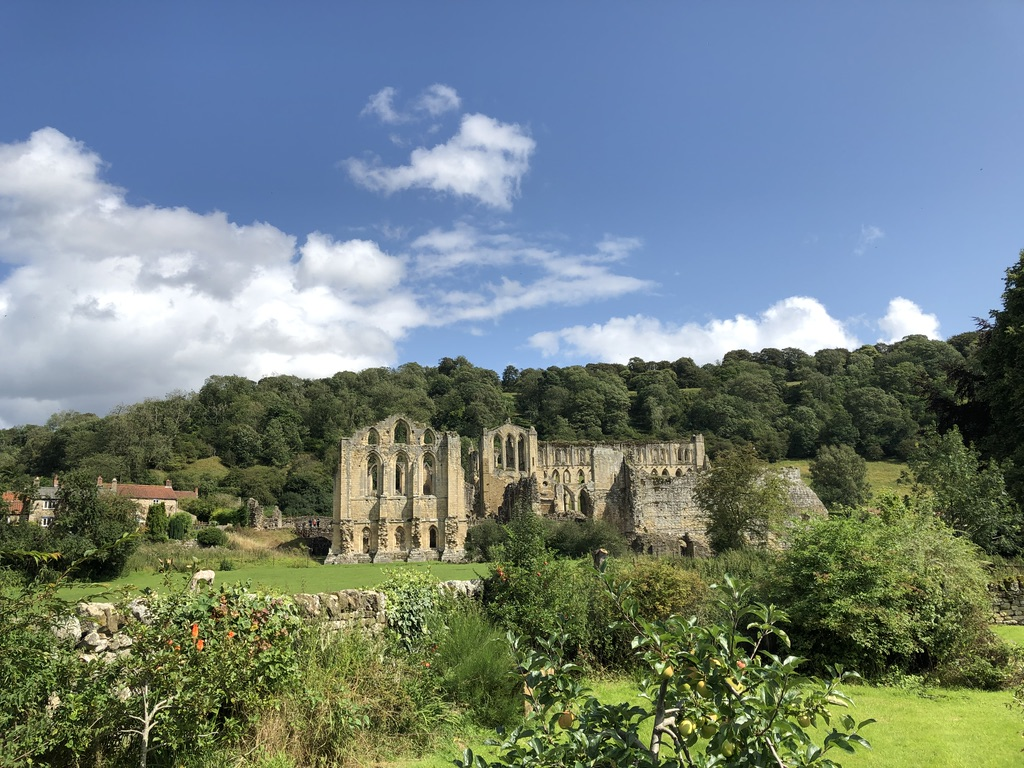 Rievaulx Abbey in the heart of the North York Moors