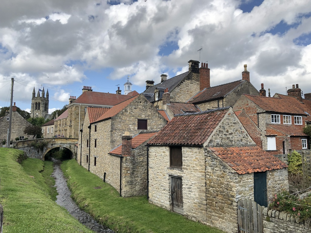 Helmsley market town in the North York Moors